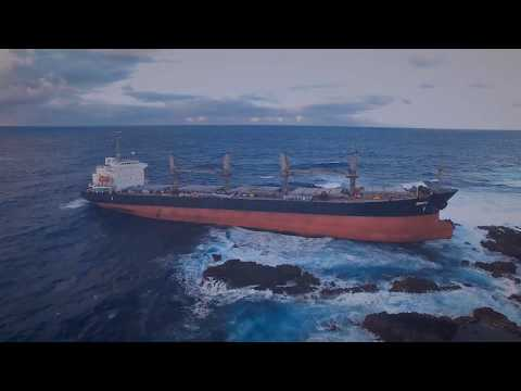 Work in action: MV Benita Salvage Operations