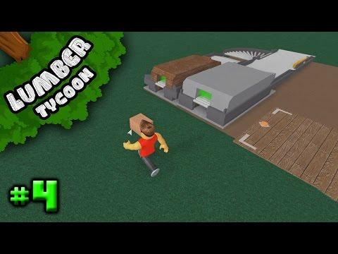 Lumber Tycoon 2 Ep. 4: Upgrading Sawmill | Roblox