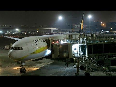Jet Airways B777-300ER Flight Experience: 9W12 Mumbai to Singapore