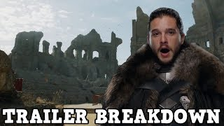 Game of Thrones Season 7 Episode 7 The Dragon and The Wolf - Season Finale Trailer Breakdown