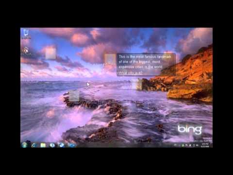 Bing Desktop Prototype