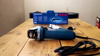 UNBOXING Angle grinder BOSCH GWS 850 C