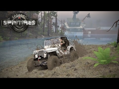 Spin Tires MP with Mods #17  Mud Pits