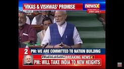 LIVE TV — PM Narendra Modi Addresses Parliament
