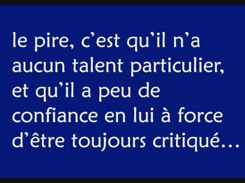 Jack Volpe - Un garçon comme les autres french rap français 2010 clip vidéo paroles lyrics