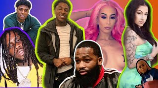 NBA Youngboy Caught 📲 Chief Keef Baby Mama | Jania Eye Black? Bhad Bhabie Caught?!