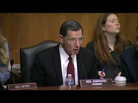 Barrasso: Innovation Has Consistently Reduced Our Emissions, Grown Our Economy