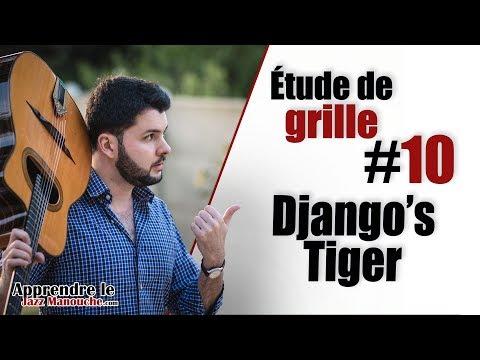 Chord chart study #10 Django's Tiger (Django Reinhardt) - Learning Gypsy Jazz