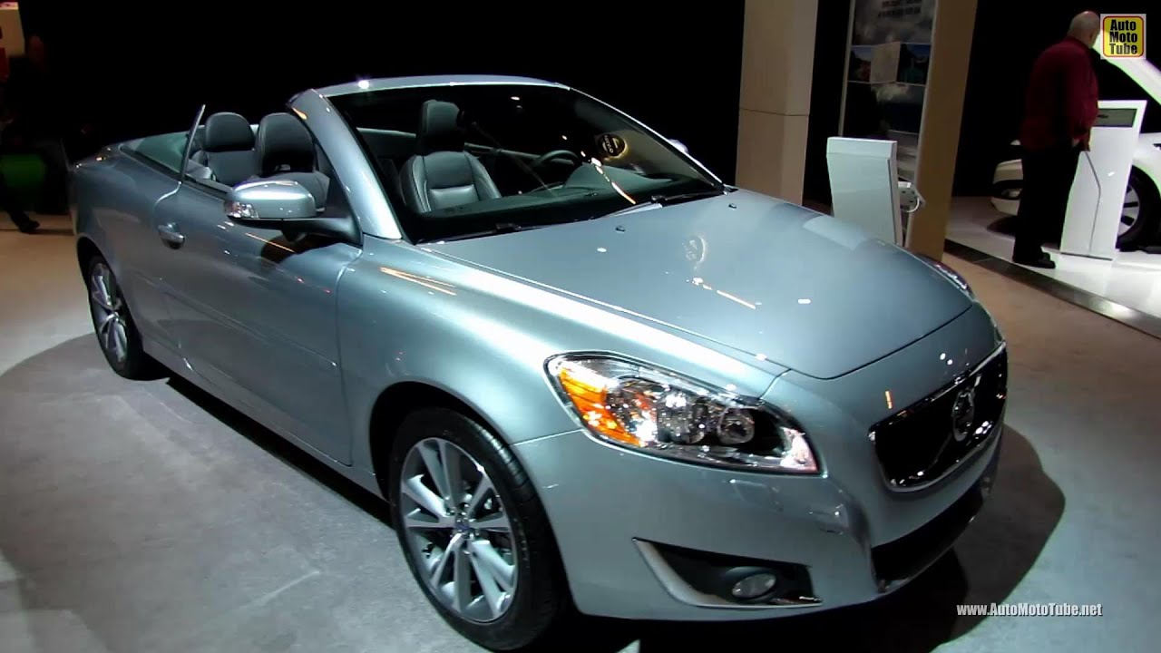 2013 volvo c70 t5 convertible exterior and interior walkaround 2013 volvo c70 t5 convertible exterior and interior walkaround 2013 montreal auto show youtube sciox Image collections