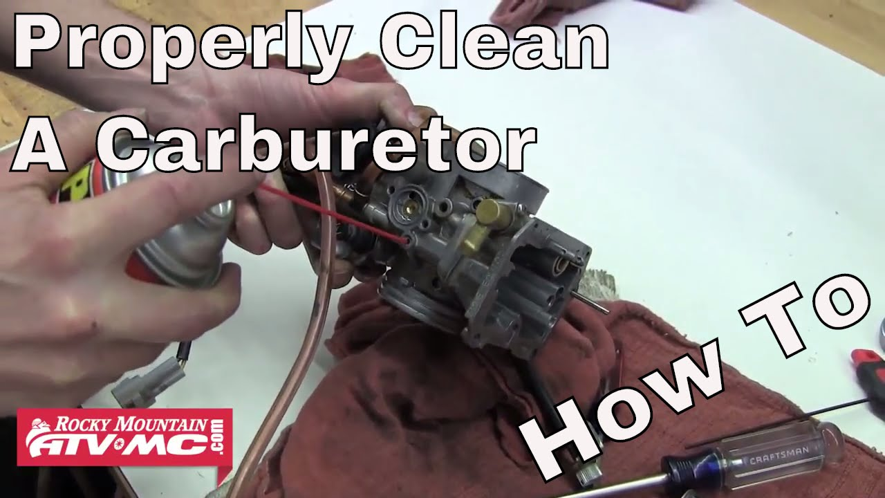 How To Clean Carburetor >> How To Clean A Carburetor On A Motorcycle Or Atv Rm Rider Exchange