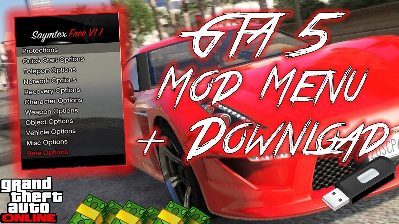 "PS4 GTA5 MOD MENU ""Released"" + [DOWNLOAD] - YouTube"