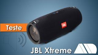 Caixa Bluetooth Jbl Xtreme Usb 40w (2x20w) - Resistente Respigo D´Agua