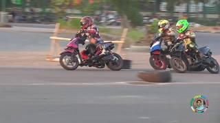 Ngintip para Road Race muda Indramayu berlatih keras