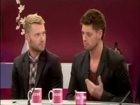 Boyzone - Keith Duffy and Ronan Keating interview on Loose Women