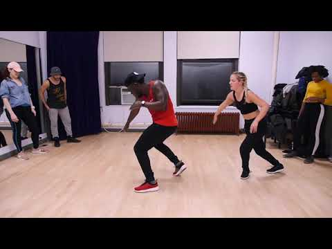 LindaEnough and Blingevo Pyrotechs Dancehall Class! Demarco - Party nice can't done