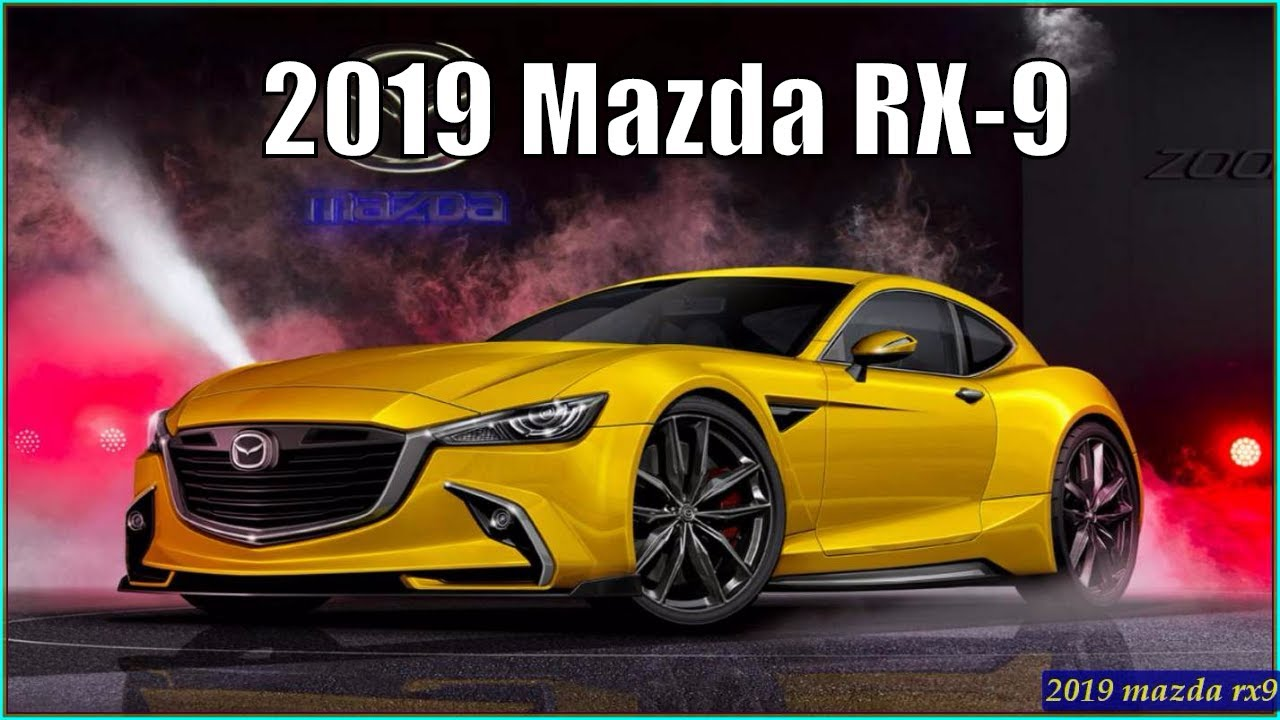 Mazda Rx9 New Rx 9 2019 First