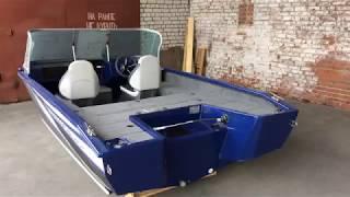 Обзор алюминиевой лодки виндбот 46 ево фиш