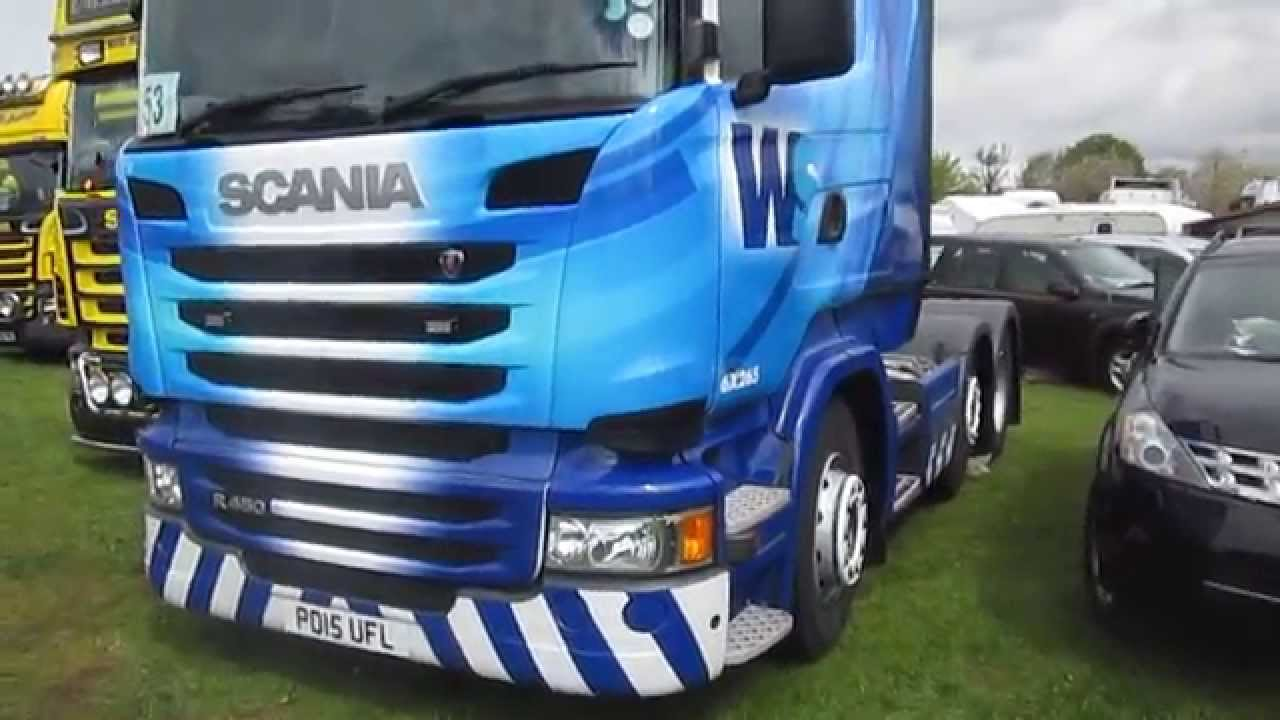 WS Transportation 6x265 At Truckfest Peterborough 2015