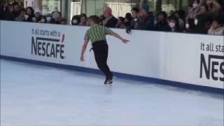 Performance in the 2nd Sacas Masters Skate Party in Akasaka Sacas o...