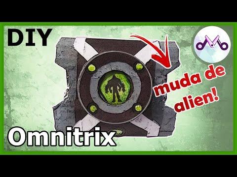 Como fazer um Omnitrix DE PAPEL que MUDA DE ALIEN! (2019) - Toy Maker (DIY) Relógio do Ben 10
