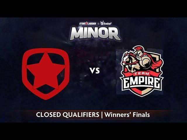 Gambit vs Empire Game 1 - StarLadder ImbaTV CIS Qualifier: Winners' Finals