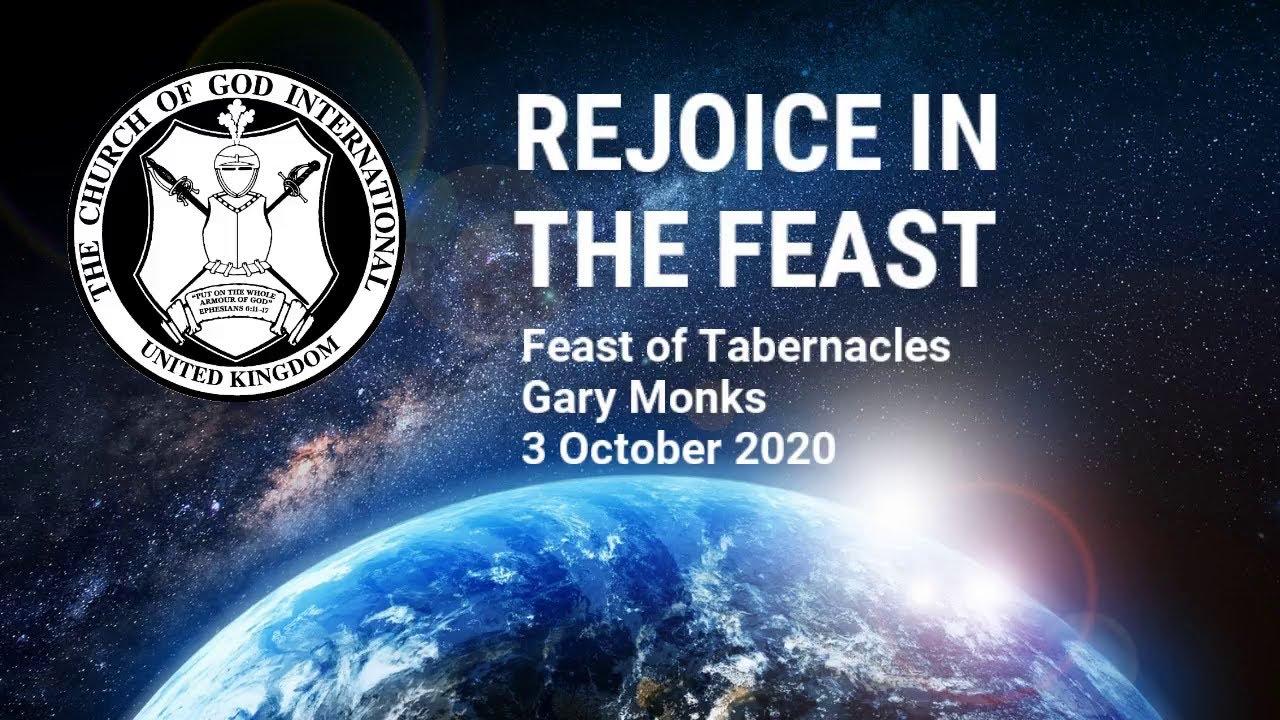 CGI UK - 3 Oct 2020 - FOT1 - Rejoice in the Feast - Gary Monks