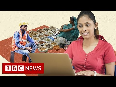 Is unemployment rising in India? - BBC News