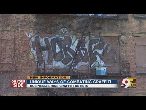 Unique ways of combating graffiti