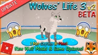 Roblox - Wolves' Life 3 v2 BETA - NEW WOLF MODEL! #15 - HD