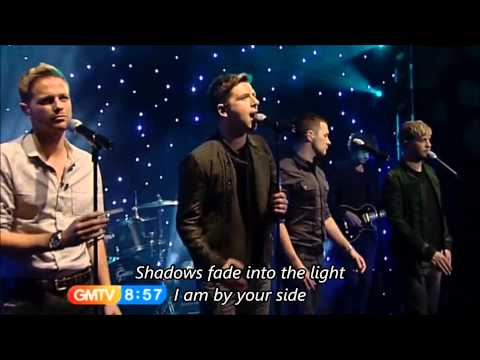 Westlife - What About Now with Lyrics (TV Live)