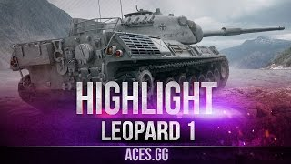 Картонка тоже может! Leopard 1 в World of Tanks