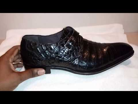 Mezlan Alligator Shoe Review. Monk Strap. Tourbillon Venom Invicta Watch N Shoes