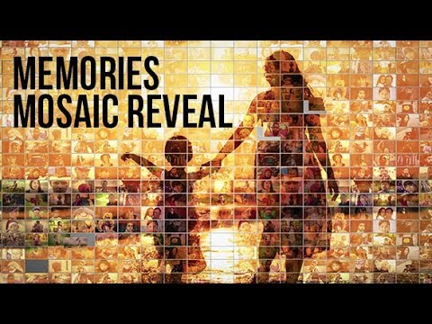 Mosaic Photo Reveal ( After Effects Project) ★ AE Templates