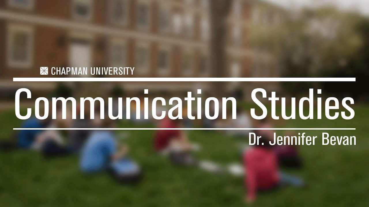 Dr  Jennifer Bevan | Faculty Profile | Chapman University