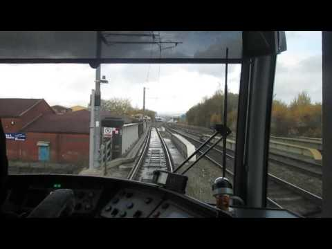 Metrolink Driver's Eye View - Rochdale Town Centre To Kingsway Business Park - Rochdale Line
