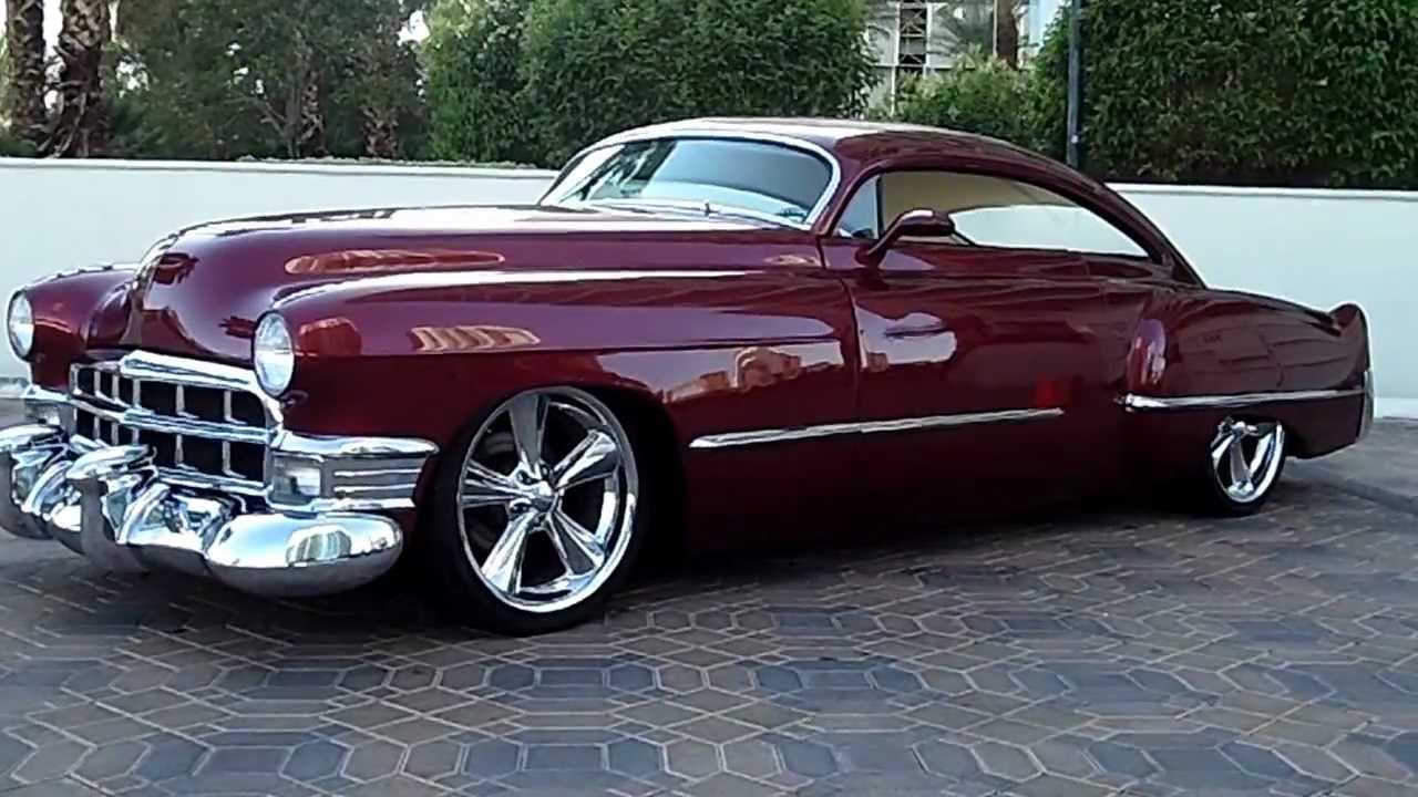 1949 Cadillac Coupe -----inside Celebrity Cars Las Vegas - YouTube