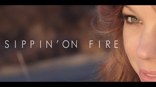 Sippin' On Fire Tyler Ward Florida Georgia Line Acoustic Cover Music Video