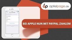 Bei Apple nun mit PayPal zahlen! - #apfelwoche