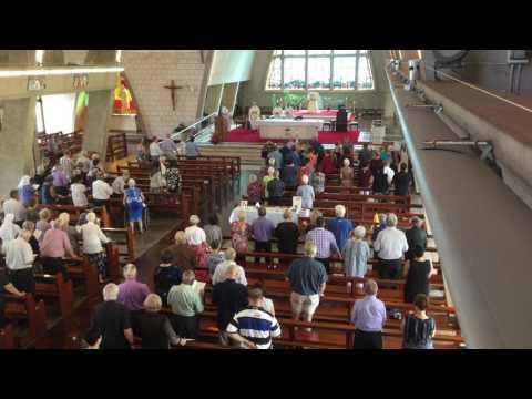 Pat Palmer - Funeral. Entire Mass