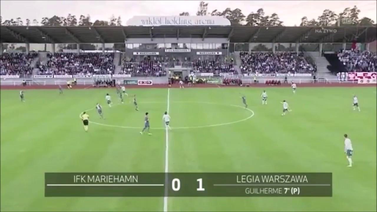 Мариехамн - Легия 0:3 видео