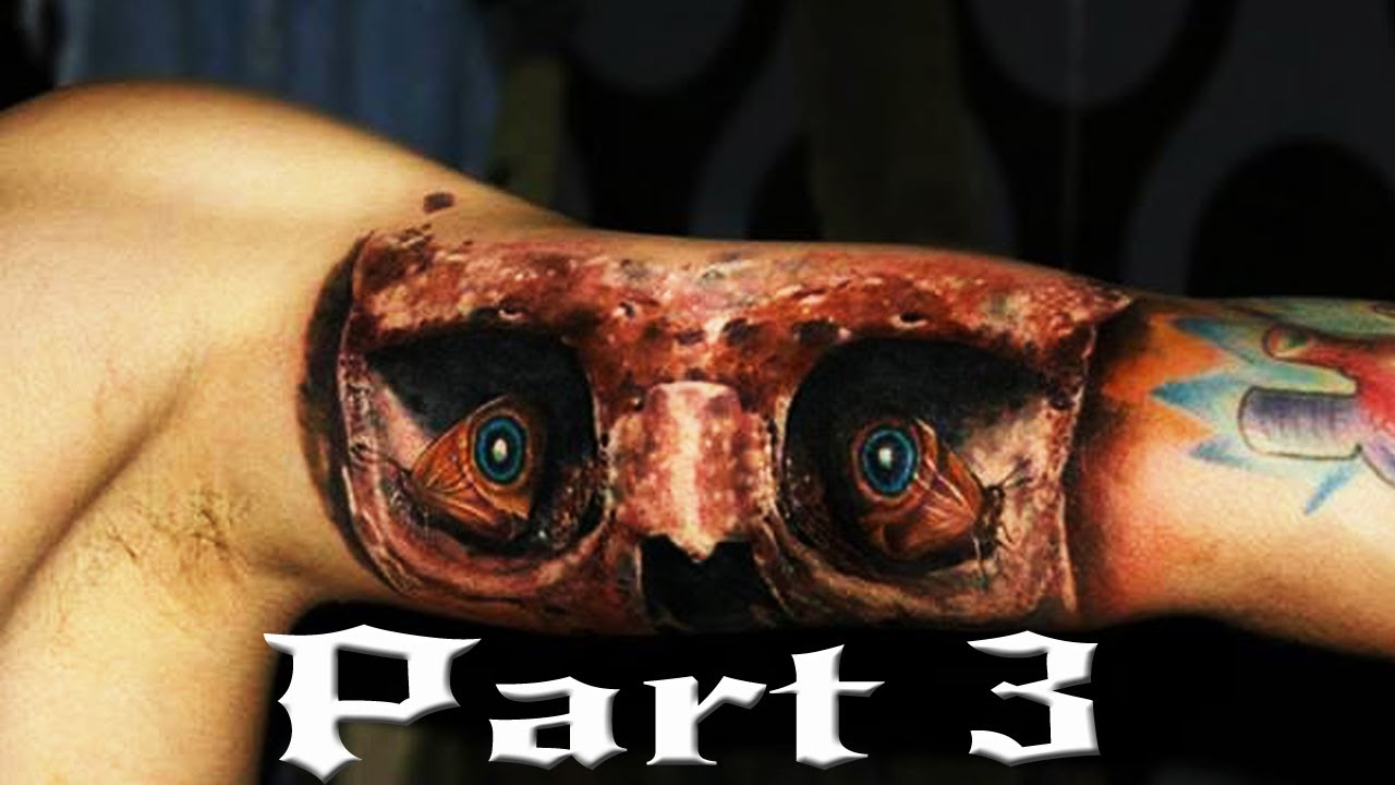 Best Tattoo In The World: Best 3D Tattoos In The World HD [ Part 3 ]