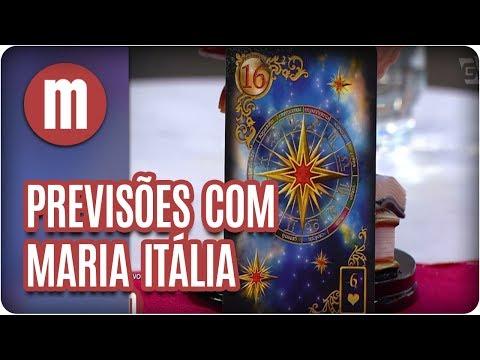 Simpatia para atrair boa sorte - Previsões com Maria Itália - Mulheres (31/08/17)
