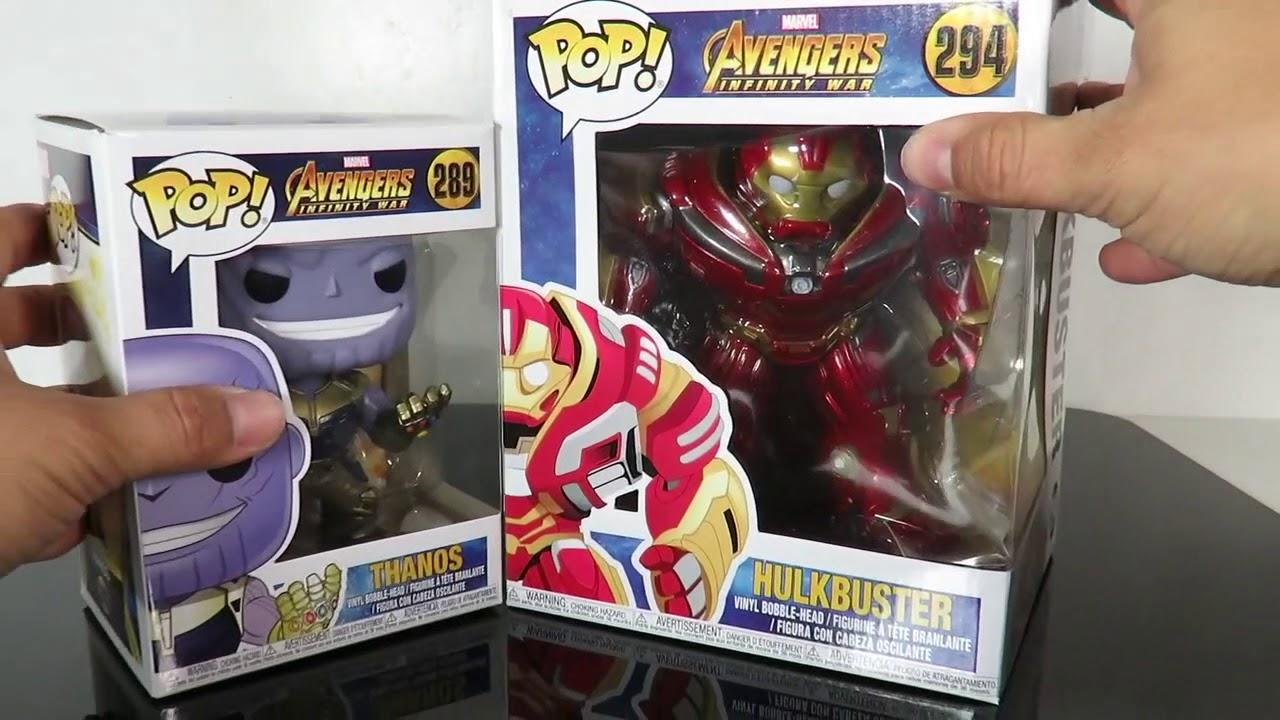 8216e340d48 Funko Pop Avengers Infinity War  Hulkbuster   Thanos review - YouTube