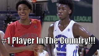 James Wiseman is ESPN's #1 Ranked Player in 2019! Bluff City vs Woodz Elite thumbnail