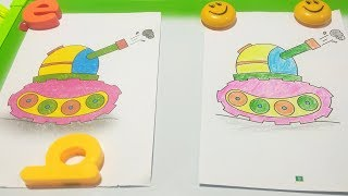 How to coloring Drawing for Kids | Drawing for Beginners | learn Picture color Pages
