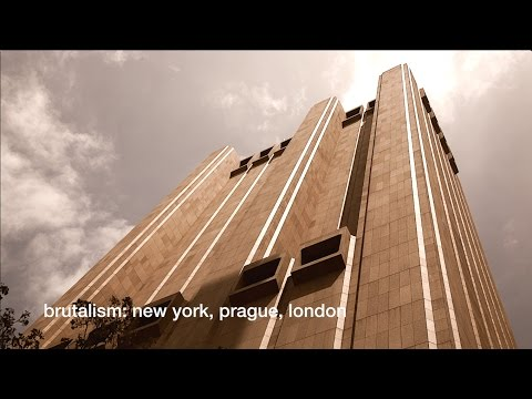Brutalist Architecture: New York, Prague, London - Stop Motion