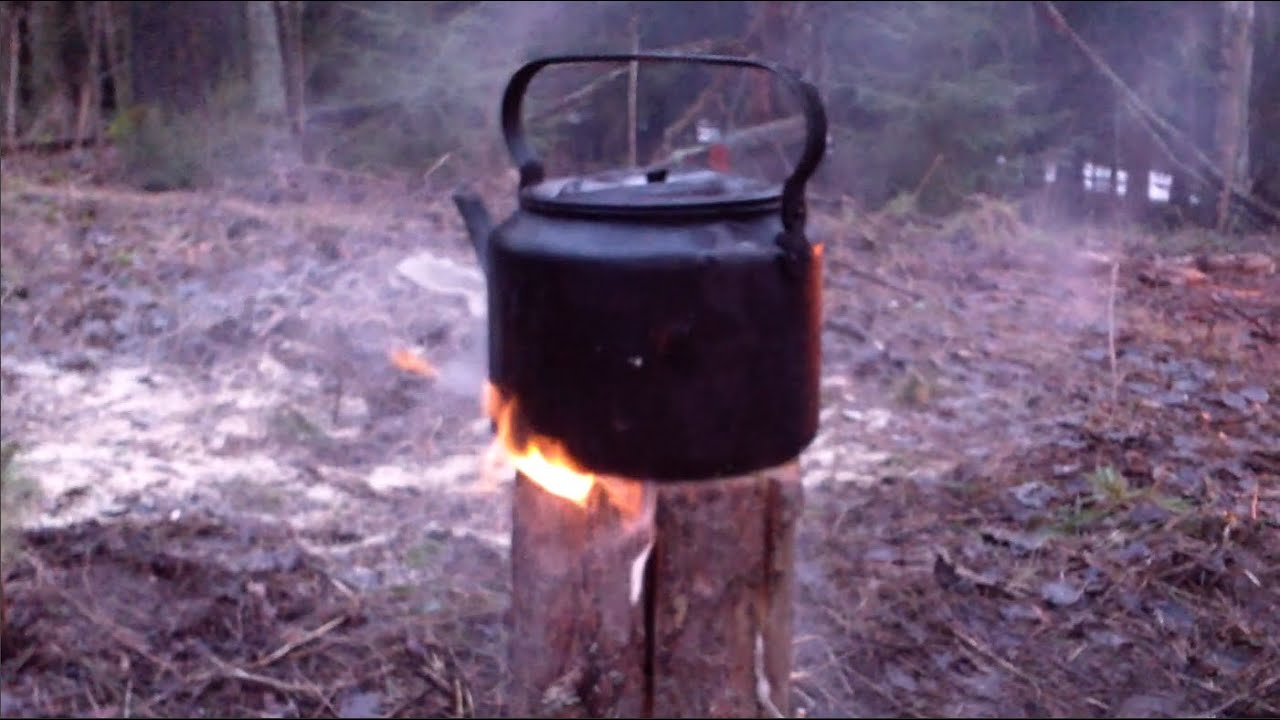 swedish candle log one log fire torch finnish candle youtube