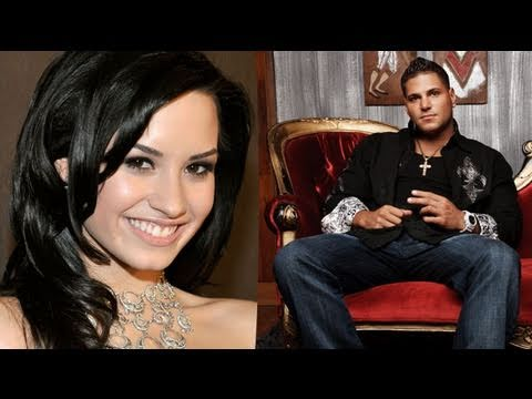Demi Lovato's Skyscraper Climbs The ITunes Charts & Jersey Shore's Ronnie Gets Community Service