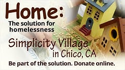 A Tiny House Village as Affordable Housing in Chico-Paradise