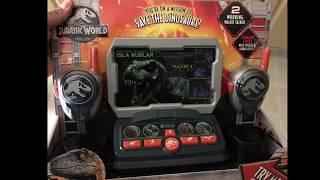 Matt's playtime.  Jurassic World Dinosaur Tracker